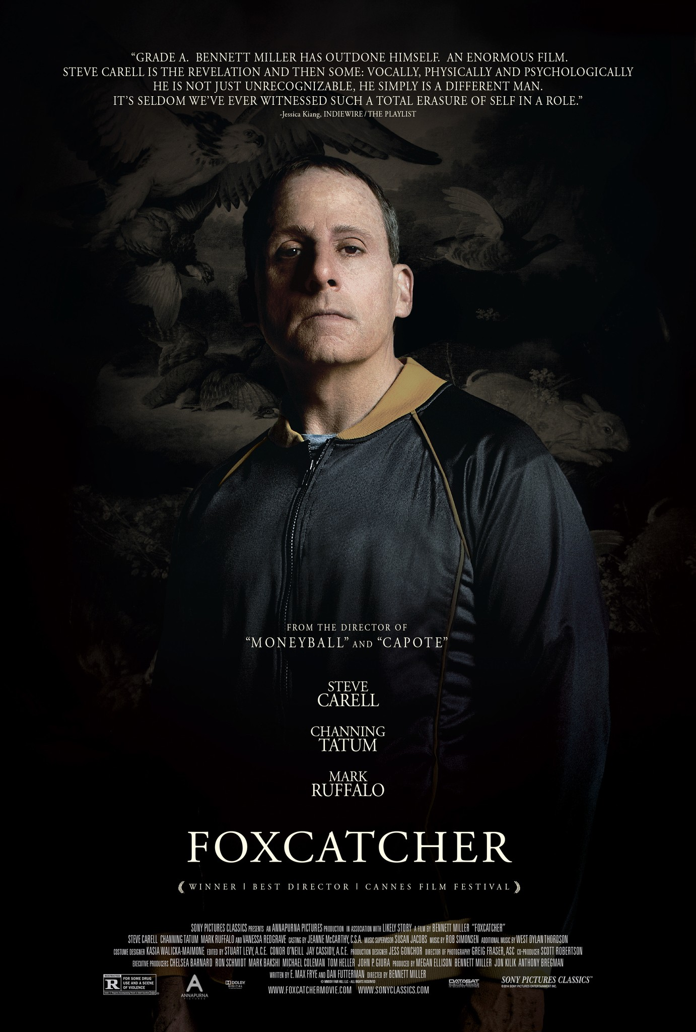 Foxcatcher-Official Poster Banner PROMO XXLG-28AGOSTO2014
