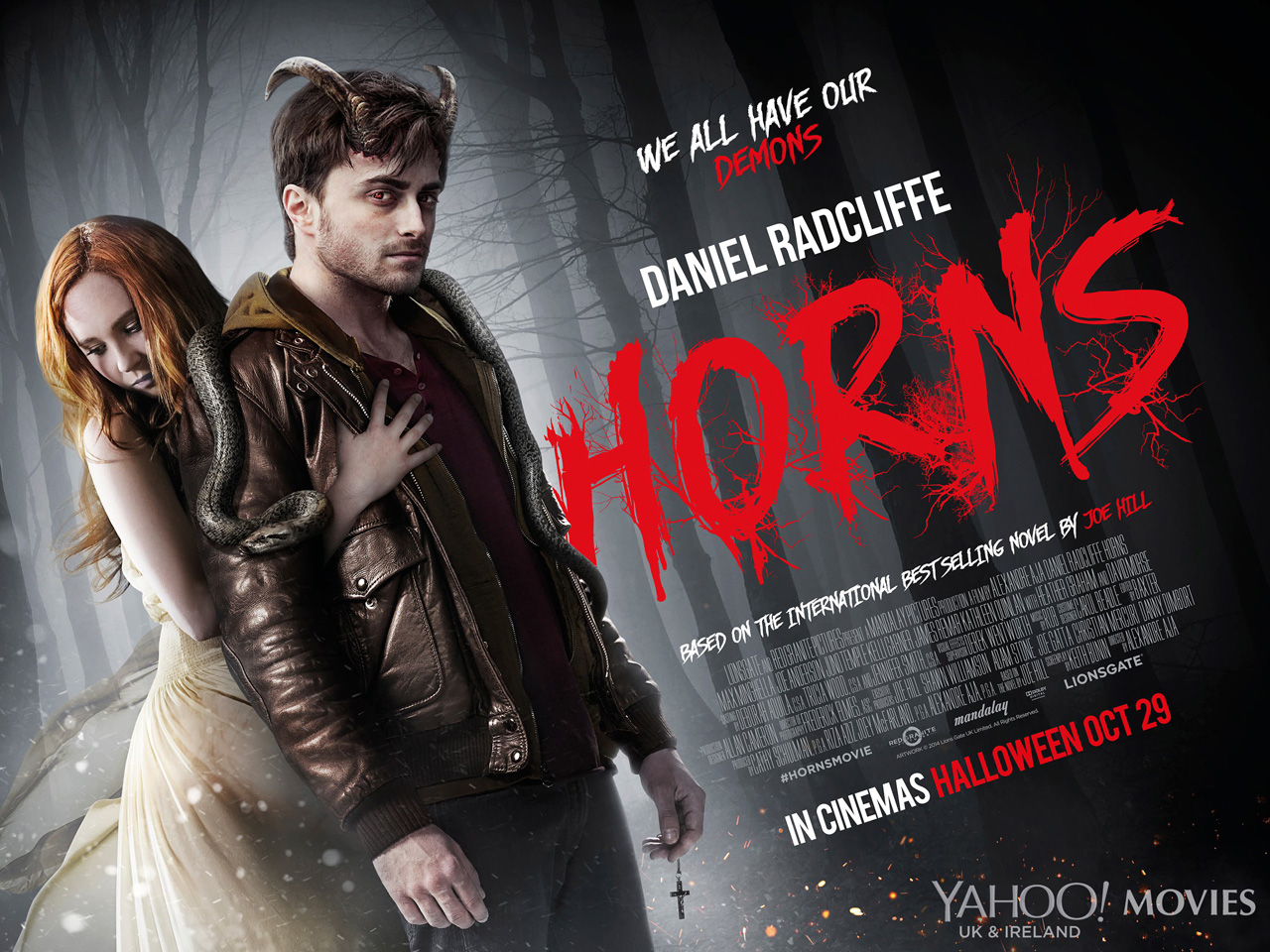 Horns-Official Poster Banner PROMO XLG-27AGOSTO2014
