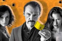 Simon Pegg, Teresa Palmer e Alice Braga no PÔSTER animado de KILL ME THREE TIMES