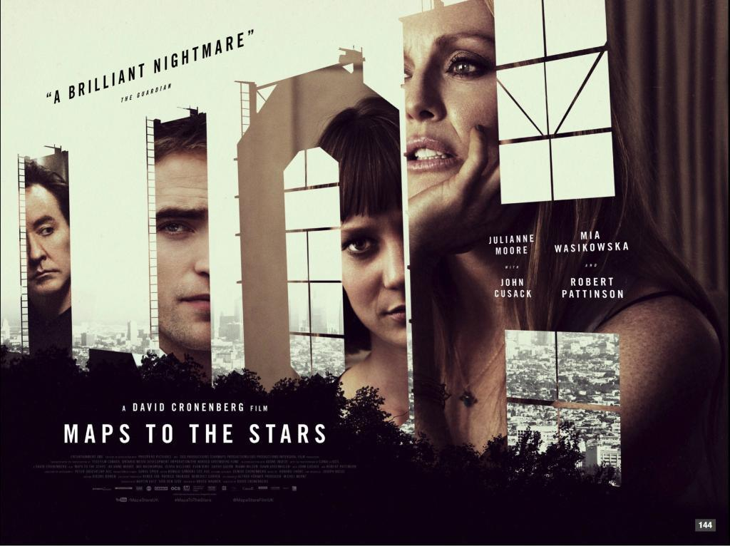 MAPS TO THE STARS-Official Poster Banner PROMO-07AGOSTO2014