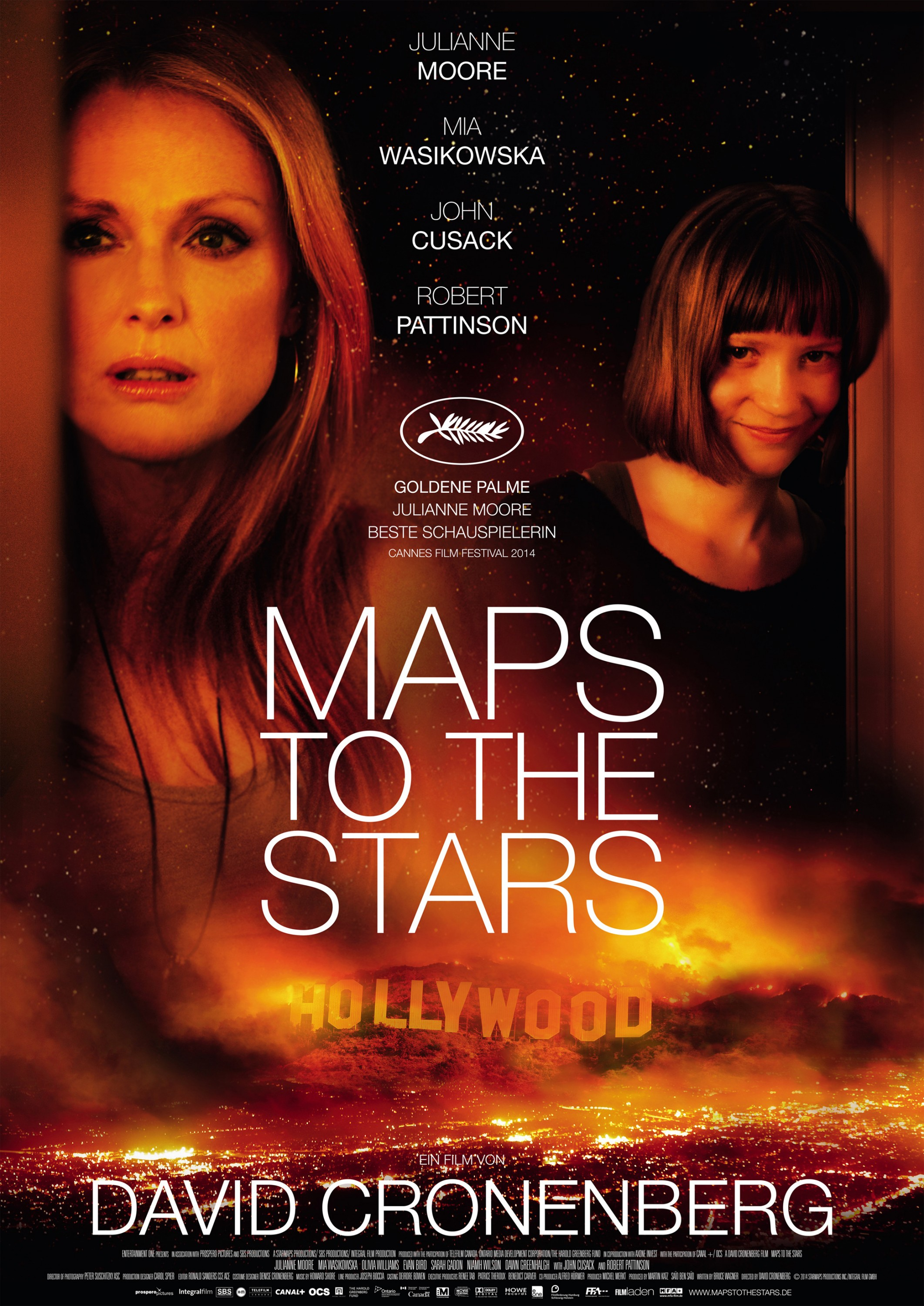 Maps to the Stars-Official Poster Banner PROMO XXLG-15AGOSTO2014-02