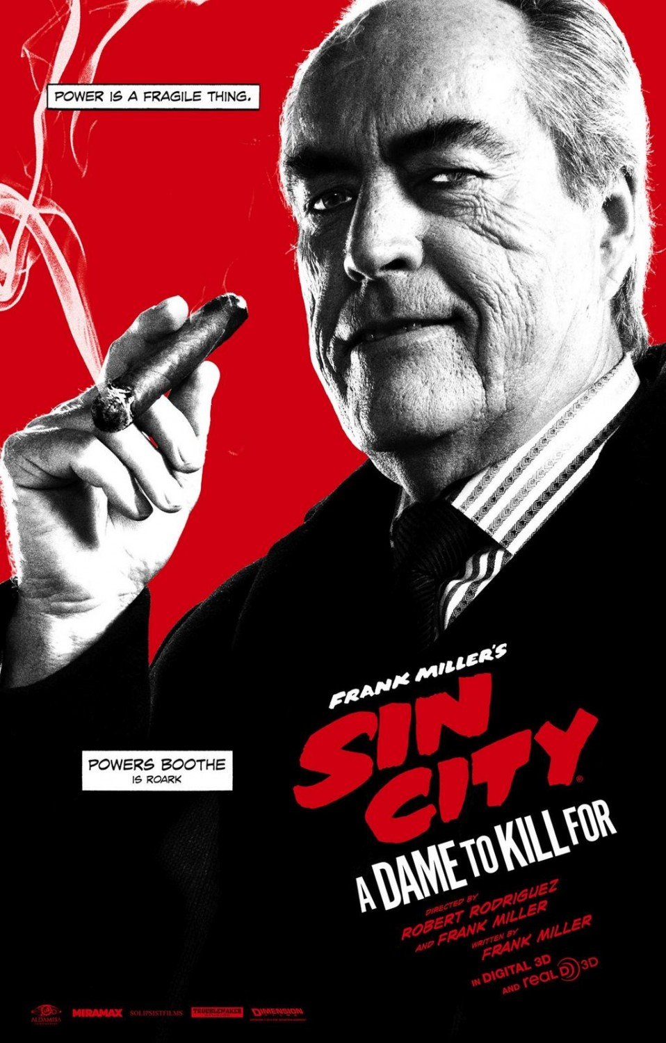 Sin City A Dame to Kill For-Official Poster Banner XLG-11AGOSTO2014-01