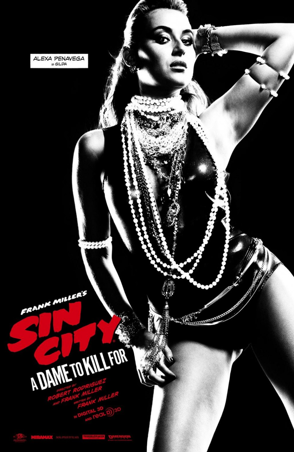 Sin City A Dame to Kill For-Official Poster Banner XLG-11AGOSTO2014-02