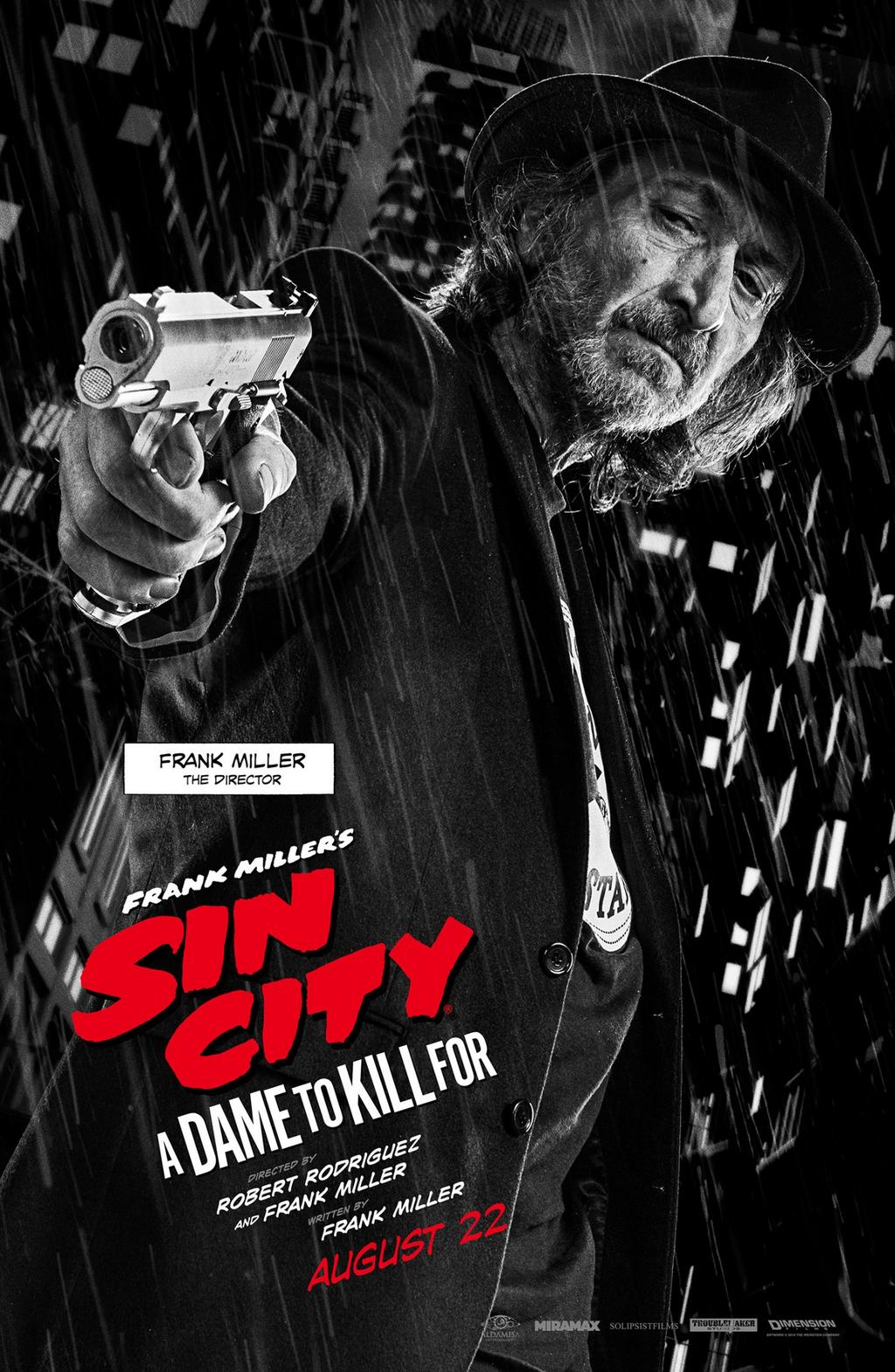 Sin City A Dame to Kill For-Official Poster Banner XLG-11AGOSTO2014-03