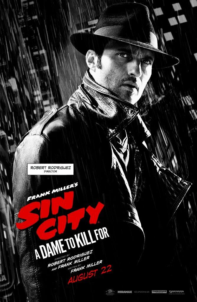 Sin City A Dame to Kill For-Official Poster Banner XLG-11AGOSTO2014-04