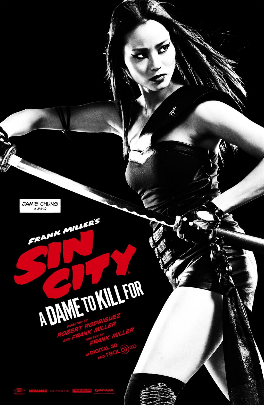 Sin City A Dame to Kill For-Official Poster Banner XLG-11AGOSTO2014-05