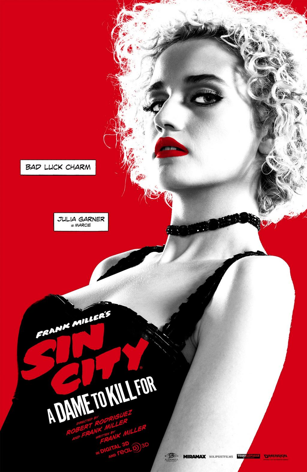 Sin City A Dame to Kill For-Official Poster Banner XLG-11AGOSTO2014-06
