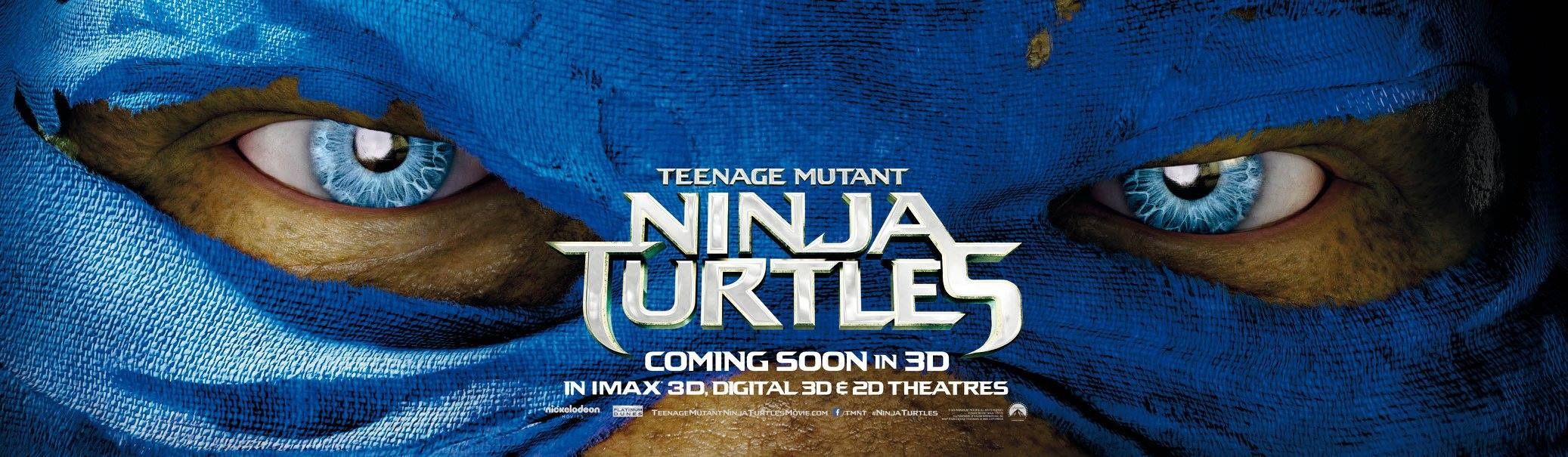 TEENAGE MUTANT NINJA TURTLES-Official Poster Banner PROMO XLG-04AGOSTO2014-01