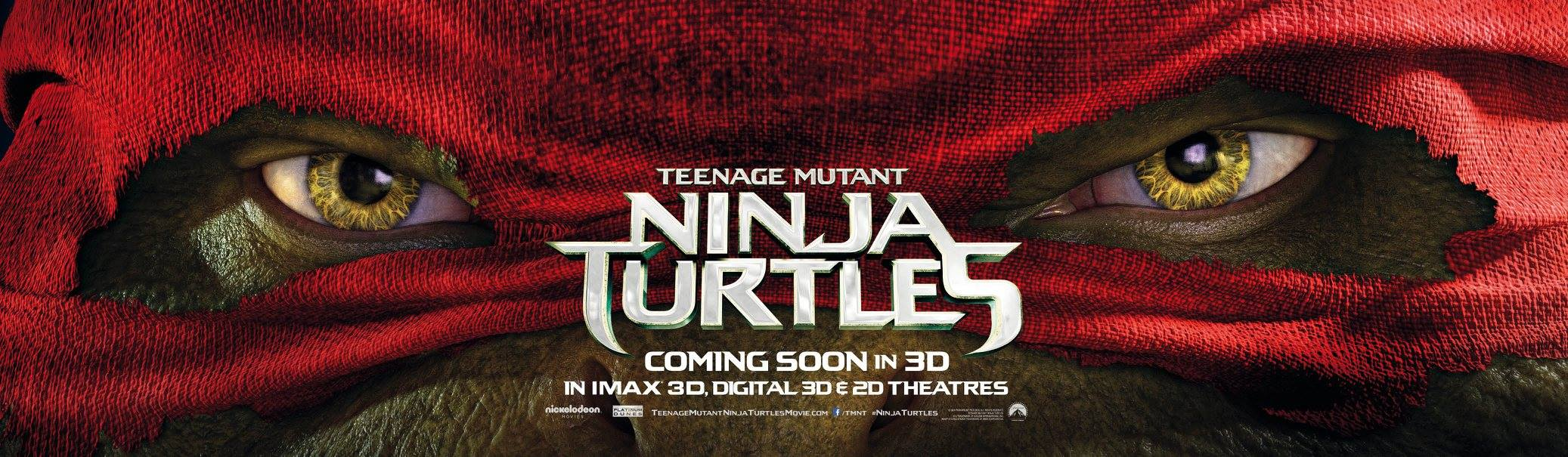 TEENAGE MUTANT NINJA TURTLES-Official Poster Banner PROMO XLG-04AGOSTO2014-02