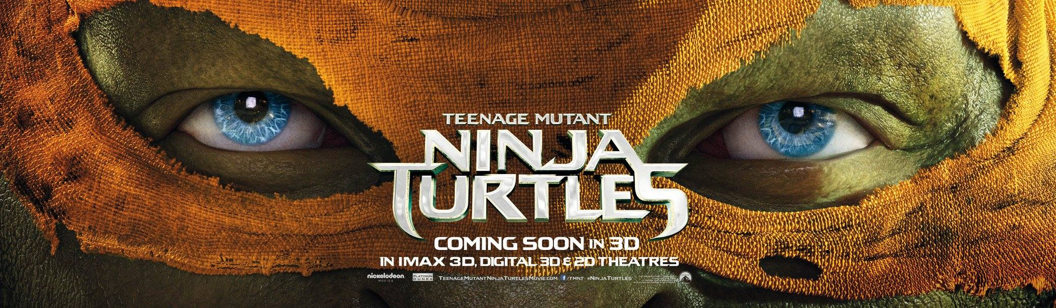 TEENAGE MUTANT NINJA TURTLES-Official Poster Banner PROMO XLG-04AGOSTO2014-03