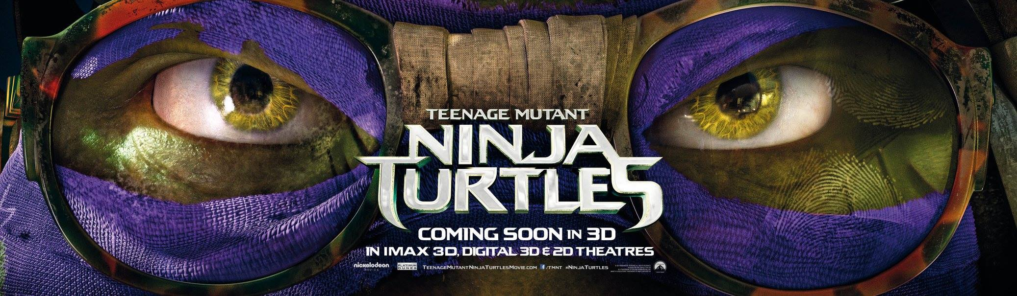 TEENAGE MUTANT NINJA TURTLES-Official Poster Banner PROMO XLG-04AGOSTO2014-04