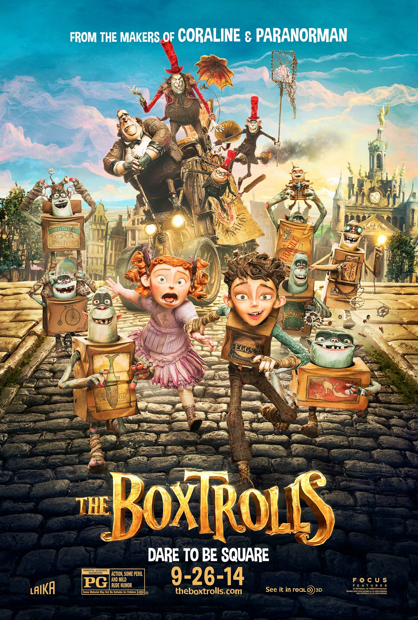 THE BOXTROLLS-Official Poster Banner PROMO XXLG-08AGOSTO2014