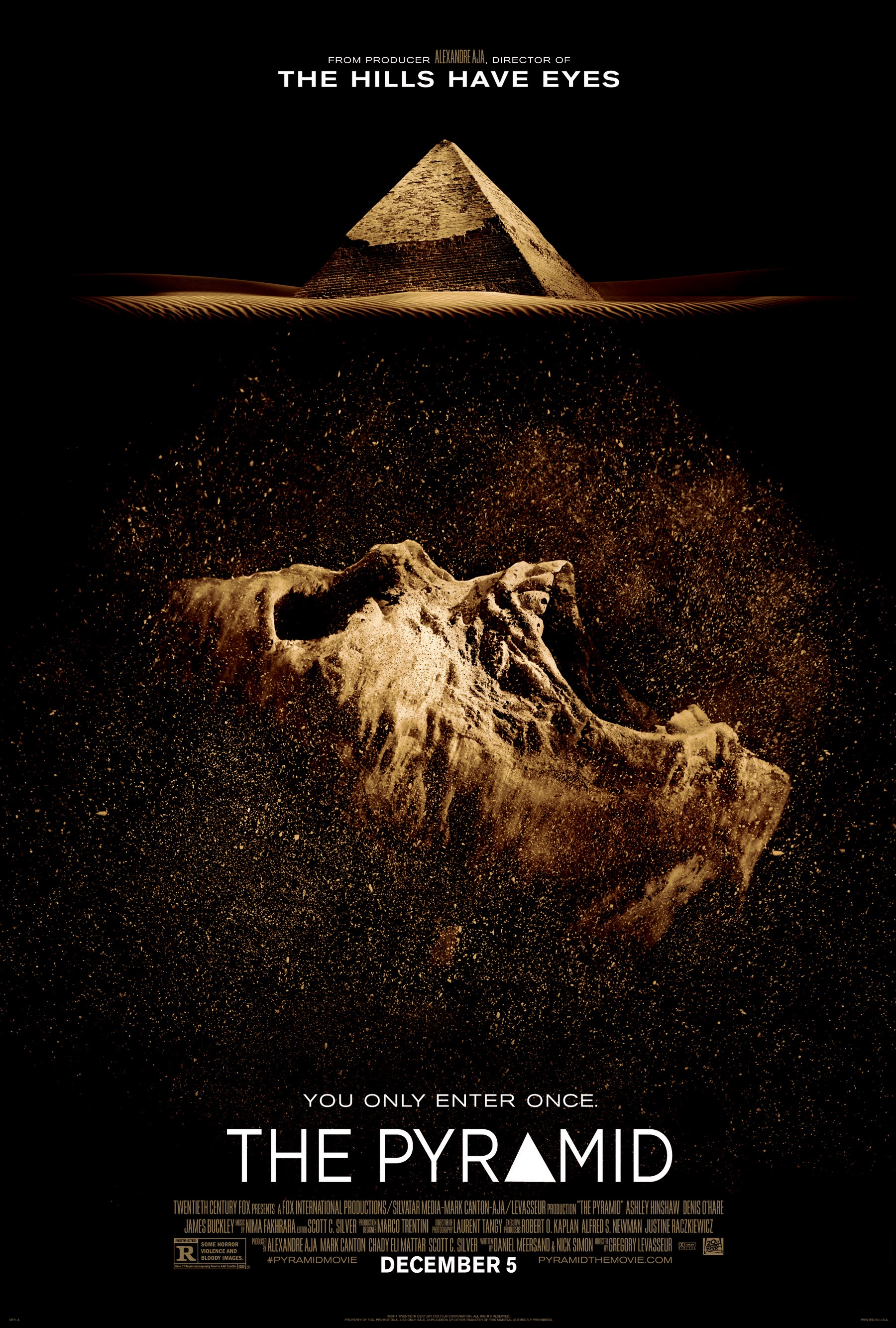 THE PYRAMID-Official Poster Banner PROMO XLG-29AGOSTO2014