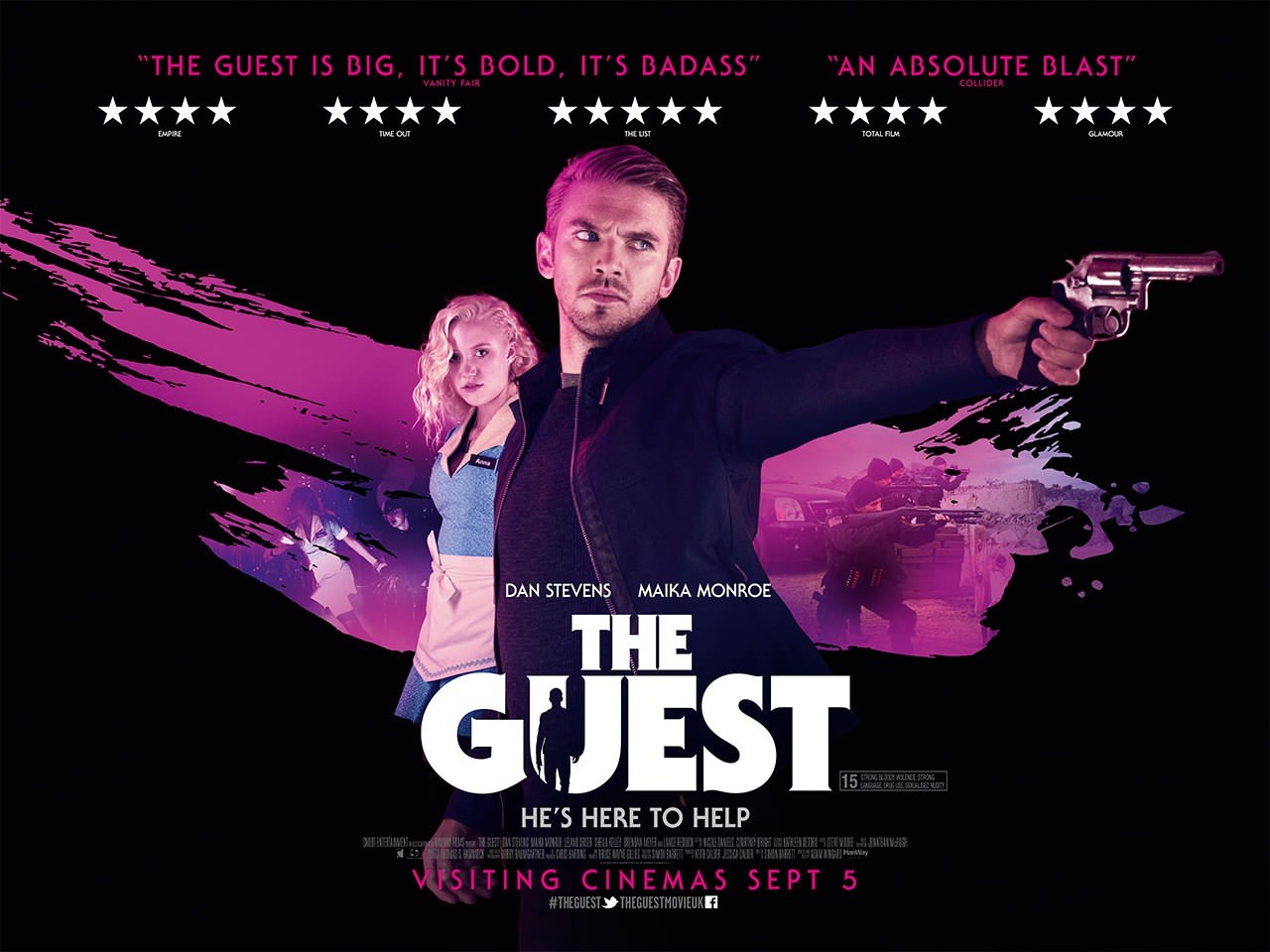 The Guest-Official Poster Banner PROMO XLG-12AGOSTO2014