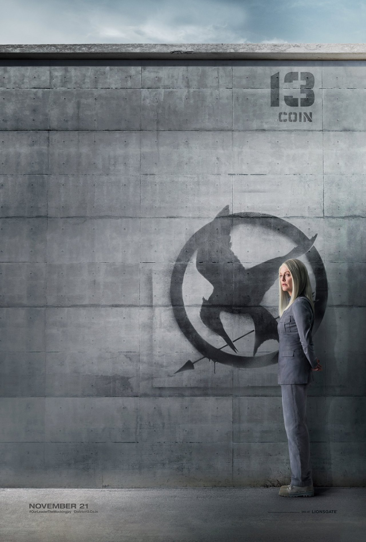 The Hunger Games Mockingjay Part 1-Official Poster Banner XLG-08AGOSTO2014-001