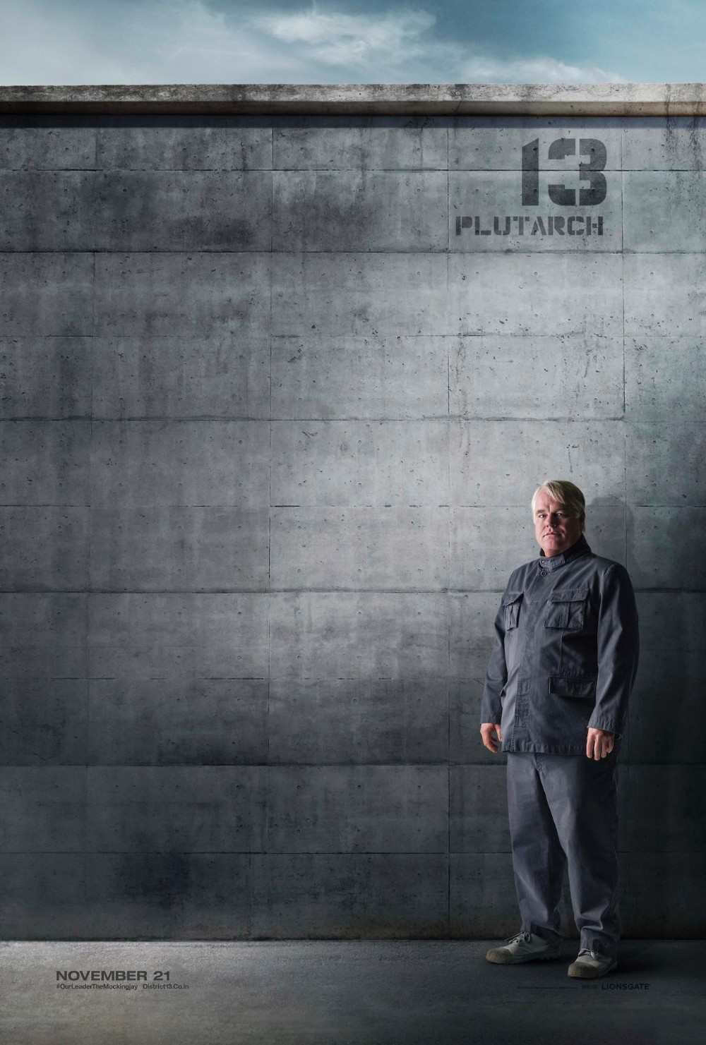 The Hunger Games Mockingjay Part 1-Official Poster Banner XLG-08AGOSTO2014-002