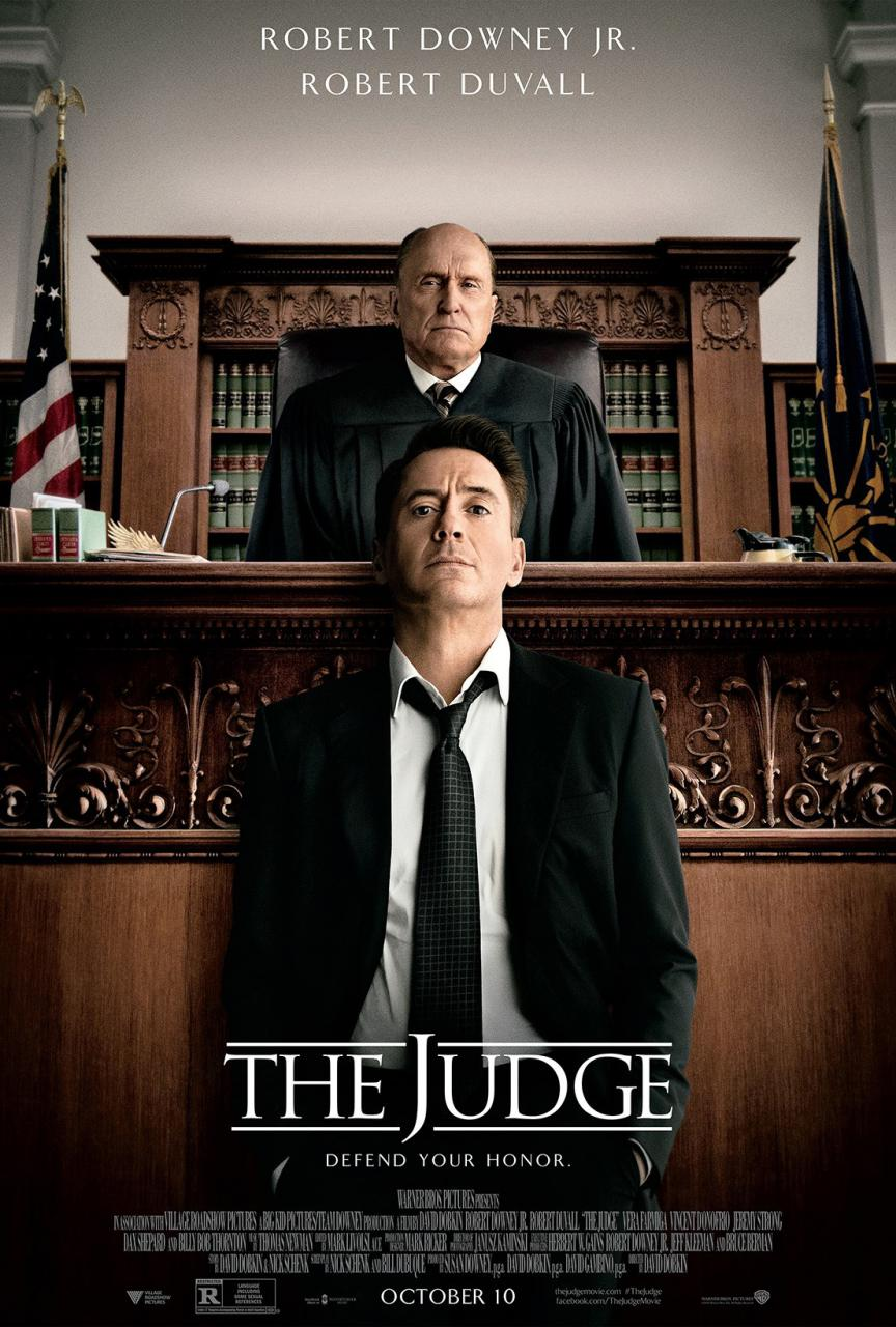 The Judge-Official Poster Banner PROMO XLG-28AGOSTO2014