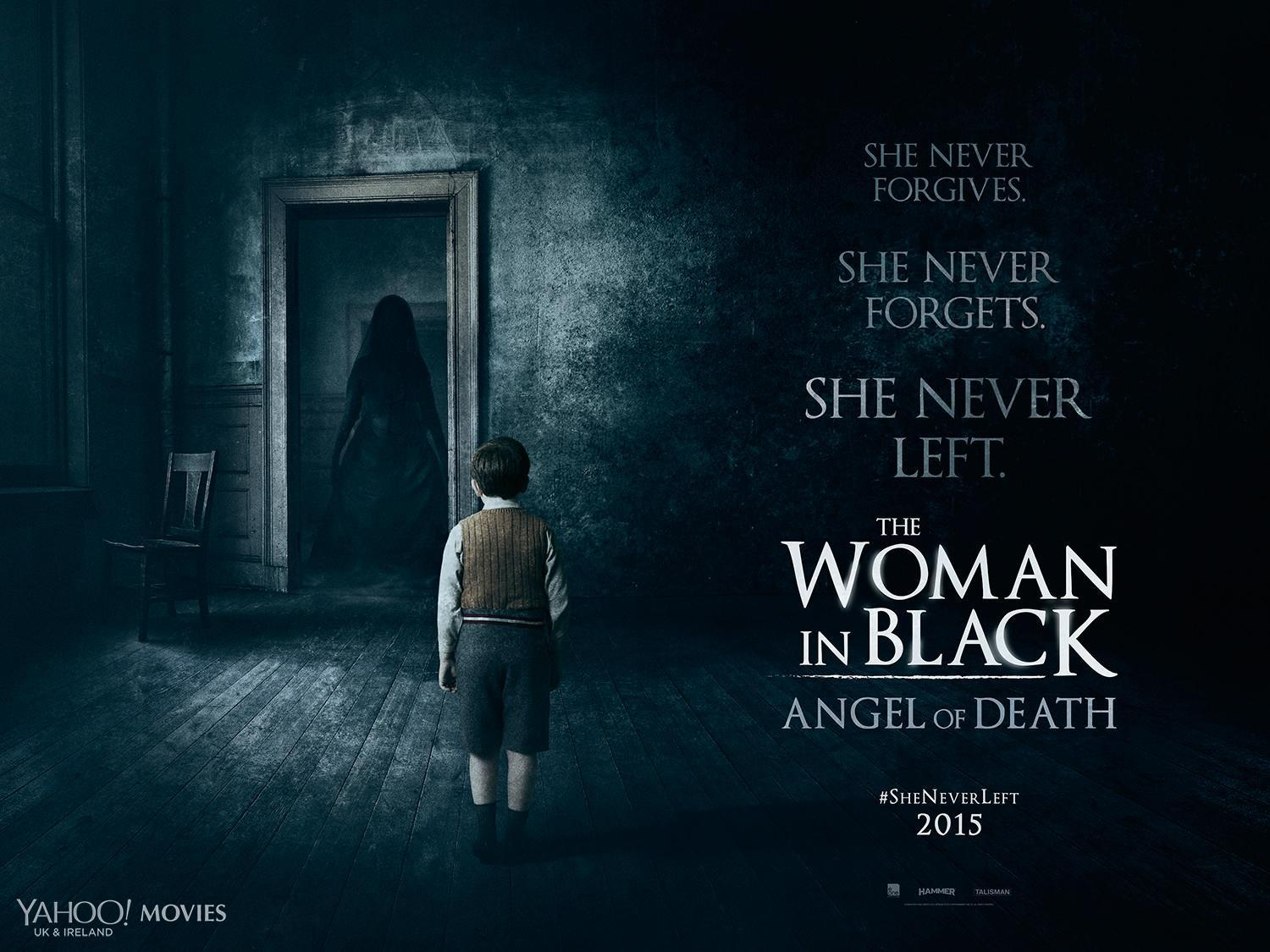 The Woman In Black Angel Of Death-Official Poster Banner PROMO-22AGOSTO2014-01