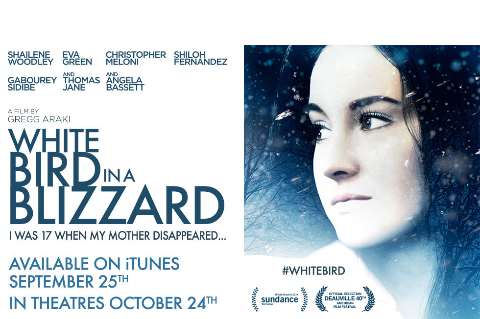 White Bird in a Blizzard-Official Poster Banner PROMO XLG-19AGOSTO2014-01
