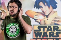 O humorista Fernando Caruso empresta voz a personagem de Star Wars Rebels
