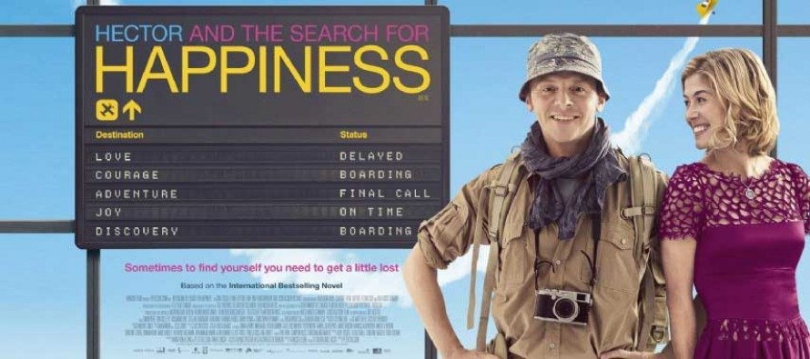 HECTOR AND THE SEARCH FOR HAPPINESS com Simon Pegg ganha novos CLIPES!