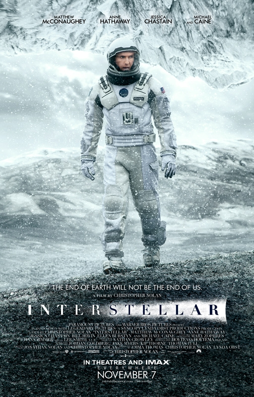 INTERSTELLAR-Official Poster Banner PROMO XLG-17SETEMBRO2014