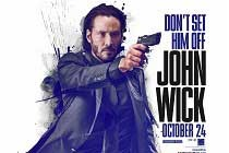 Keanu Reeves estampa PÔSTER do thriller JOHN WICK