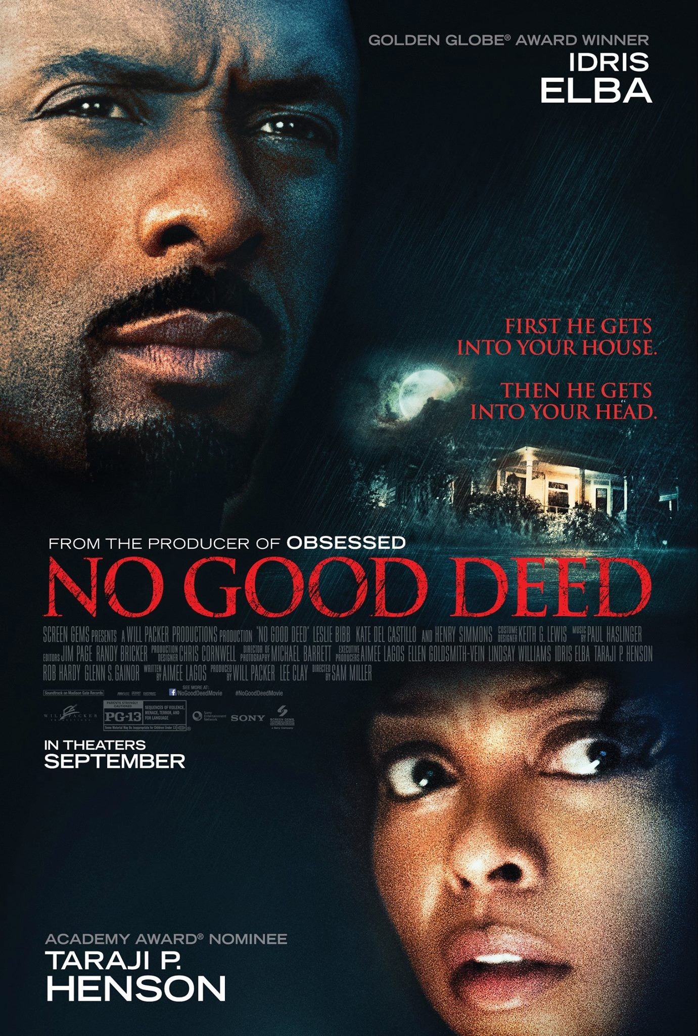 NO GOOD DEED-Official Poster Banner PROMO-10SETEMBRO2014