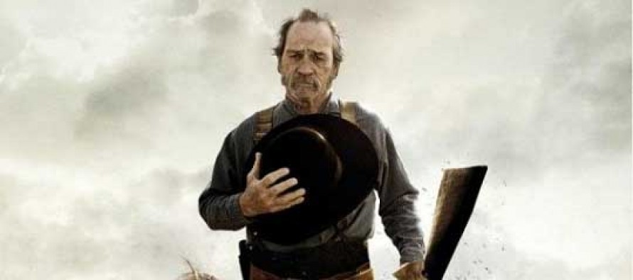Tommy Lee Jones no PÔSTER do drama THE HOMESMAN!