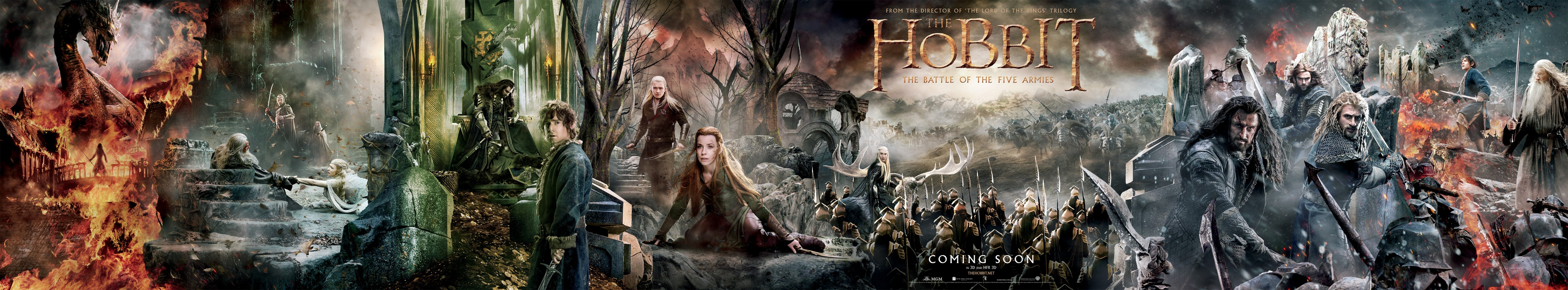 The Hobbit The Battle of the Five Armies-Official Poster Banner PROMO-16SETEMBRO2014