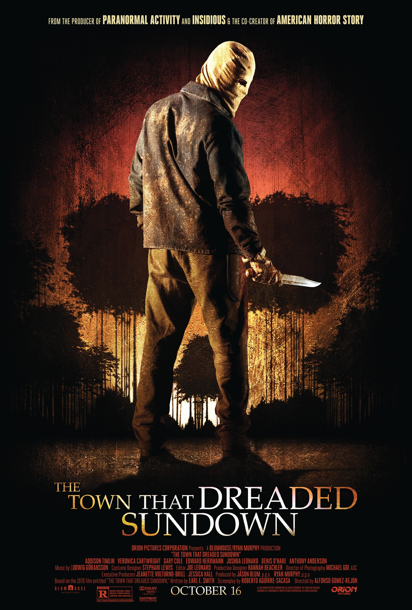 The Town that Dreaded Sundown-Official Poster Banner PROMO-16SETEMBRO2014