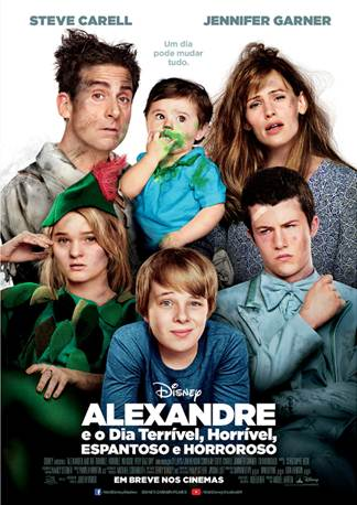 Alexander and the Terrible, Horrible, No Good, Very Bad Day-Brasil