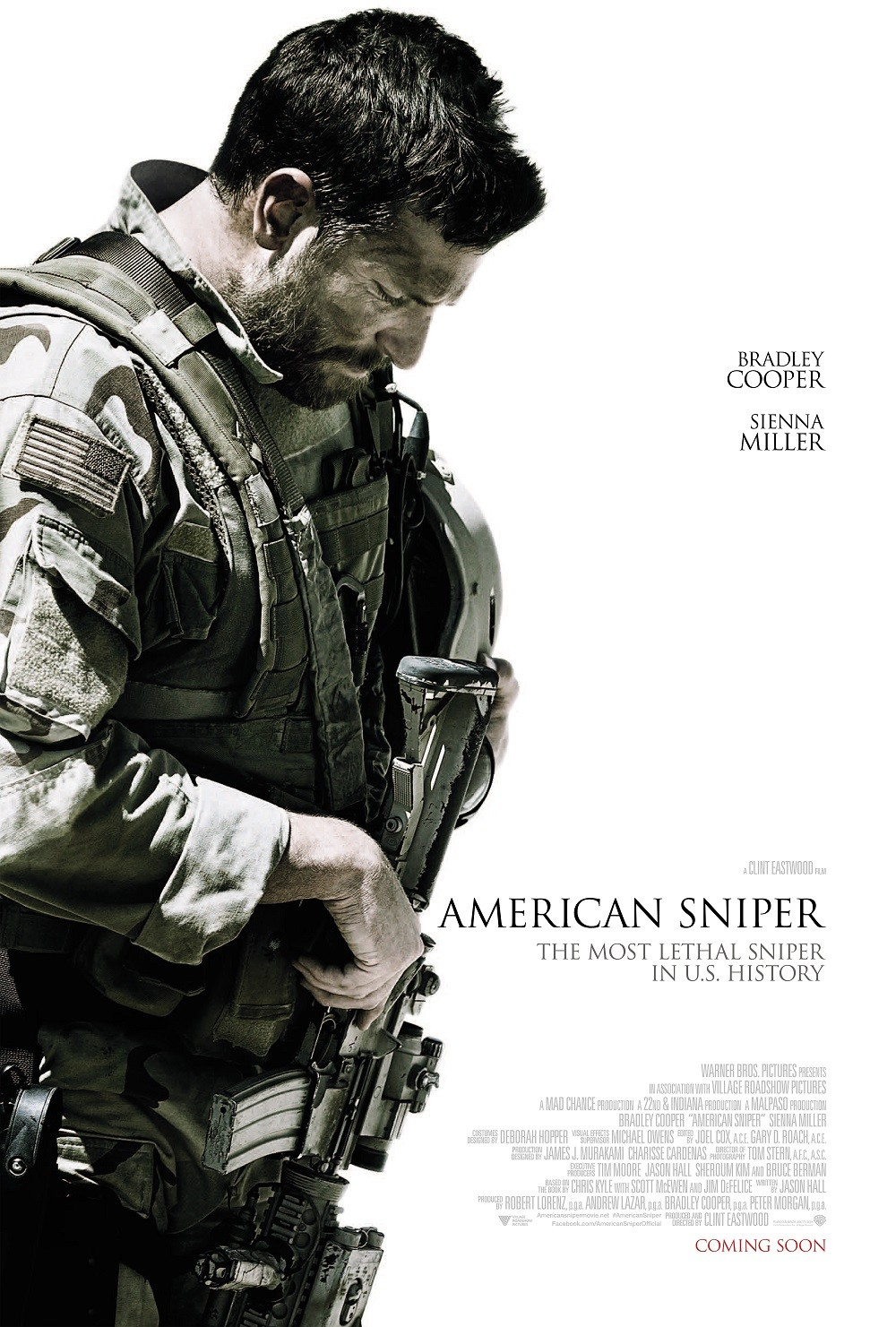American Sniper-Official Poster Banner PROMO XLG-16OUTUBRO2014