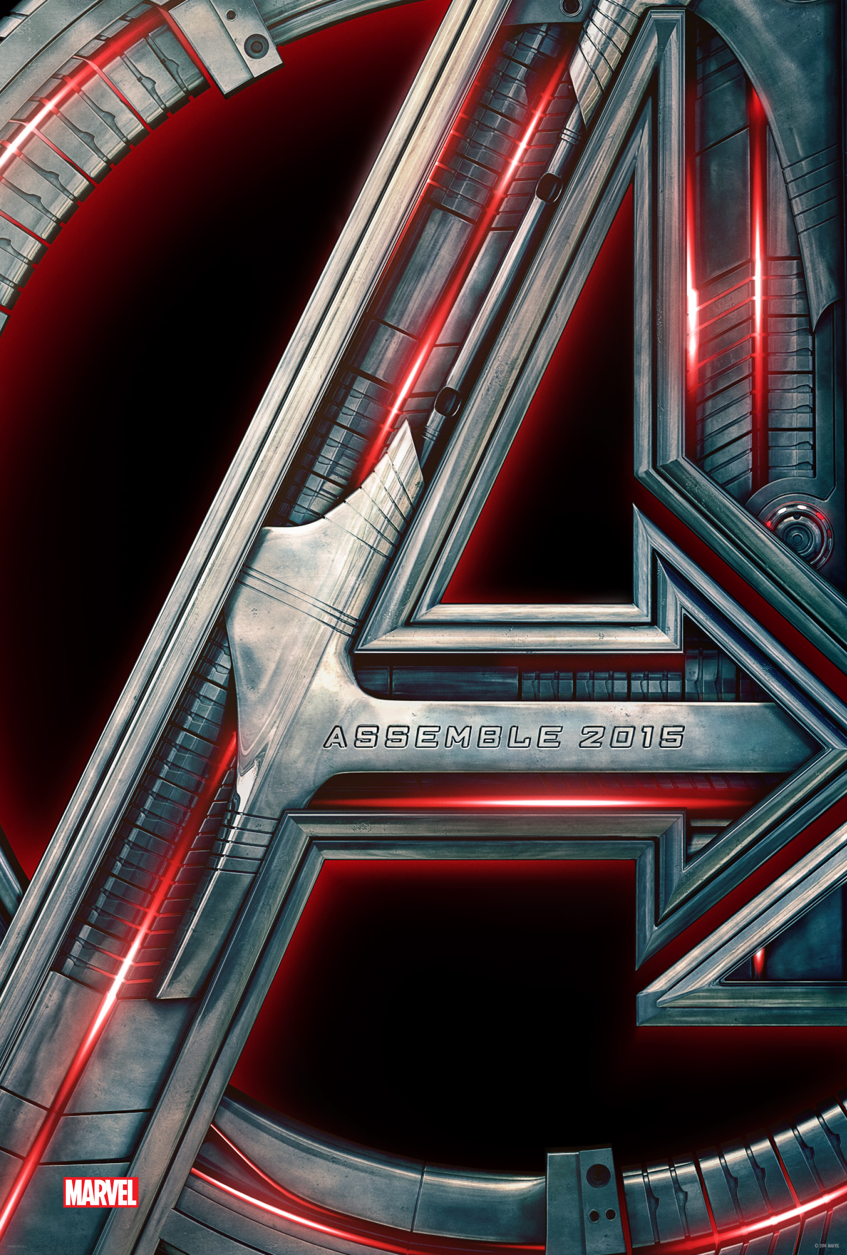 Avengers Age of Ultro-Official Poster BRASIL
