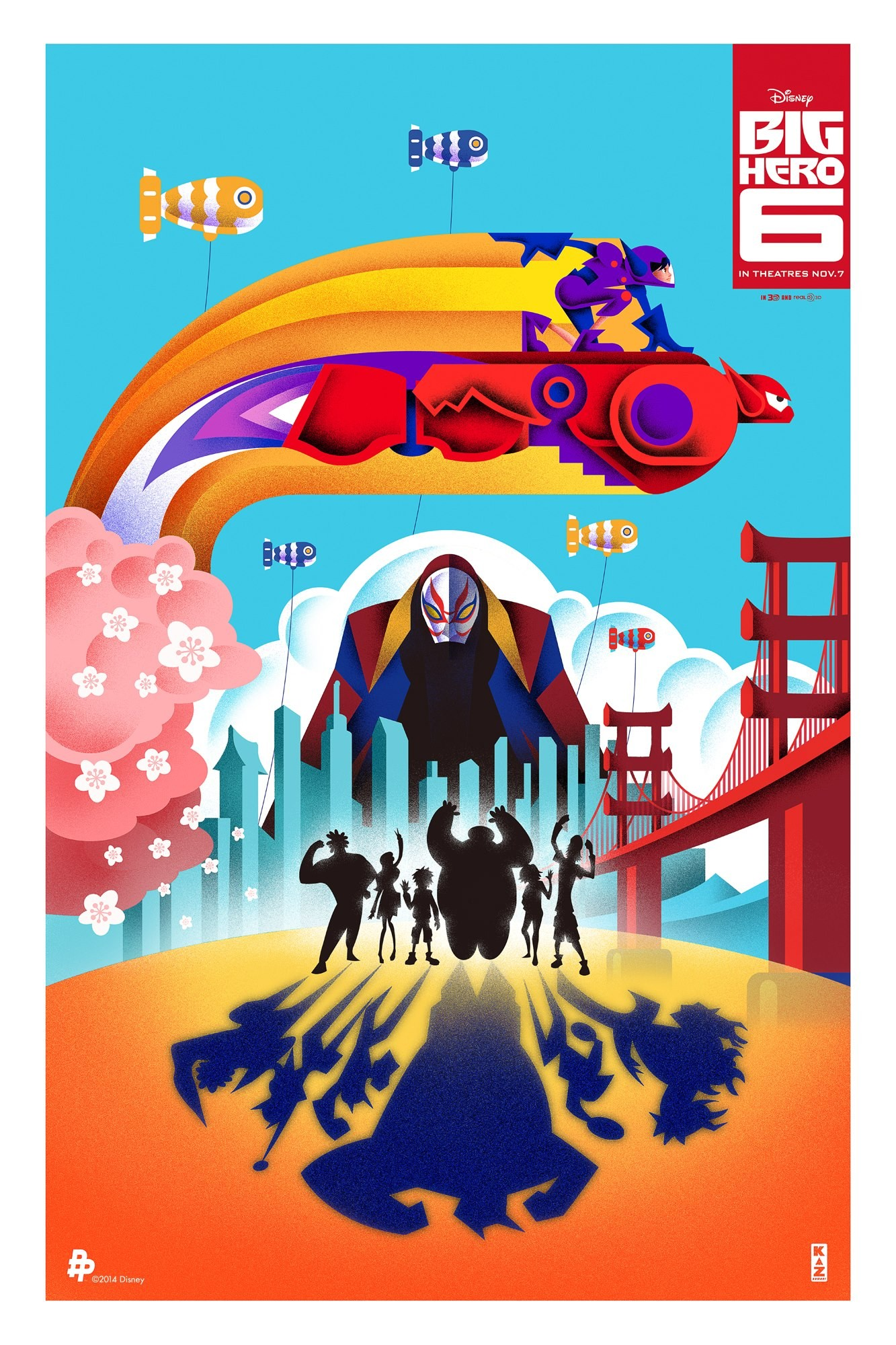Big Hero 6-Official Poster Banner POSTER XLG-09OUTUBRO2014-00