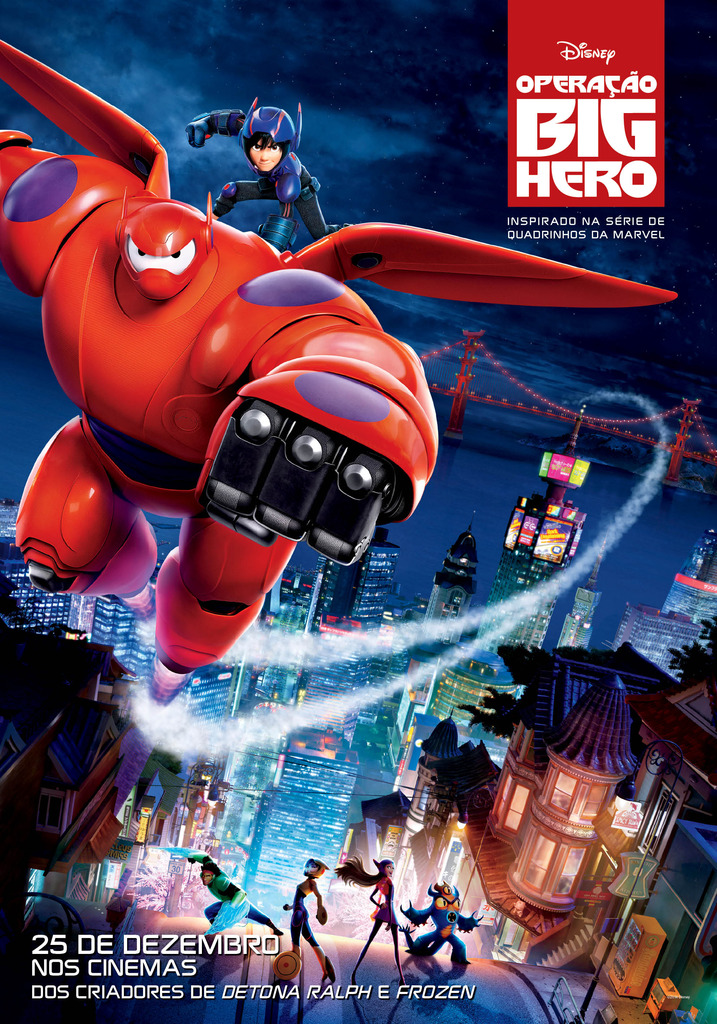 Big Hero 6-Official Poster Banner POSTER XLG-17OUTUBRO2014