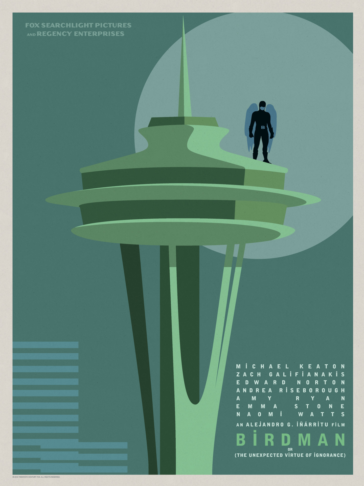 Birdman-Official Poster Minimalist XLG-13OUTUBRO2014-07