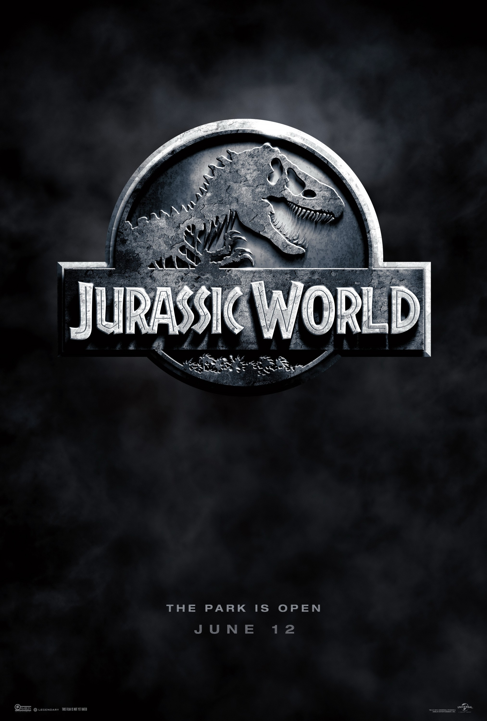 Jurassic World-Official Poster Banner PROMO XXLG-16OUTUBRO2014-00