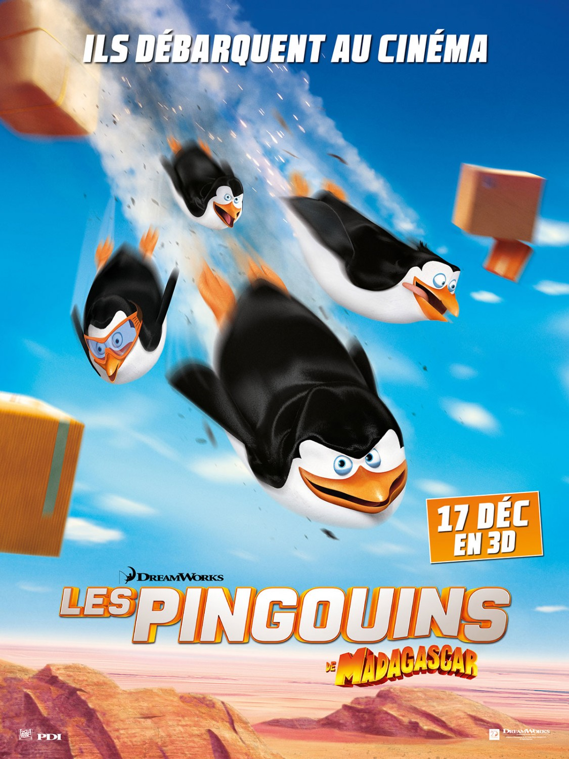 Penguins of Madagascar-Official Poster Banner-00