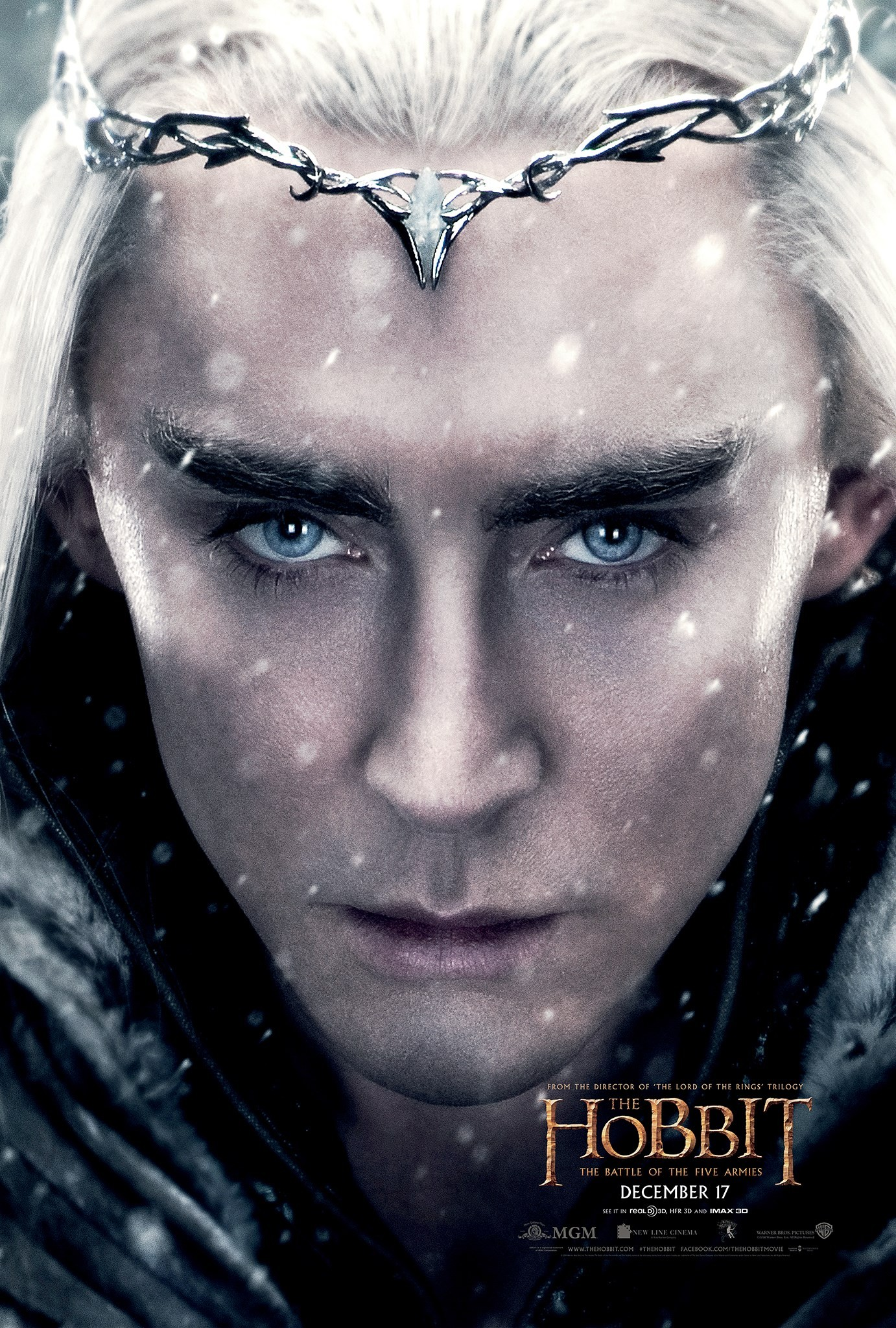 The Hobbit The Battle of the Five Armies-Official Poster CHAR-14OUTUBRO2014-01