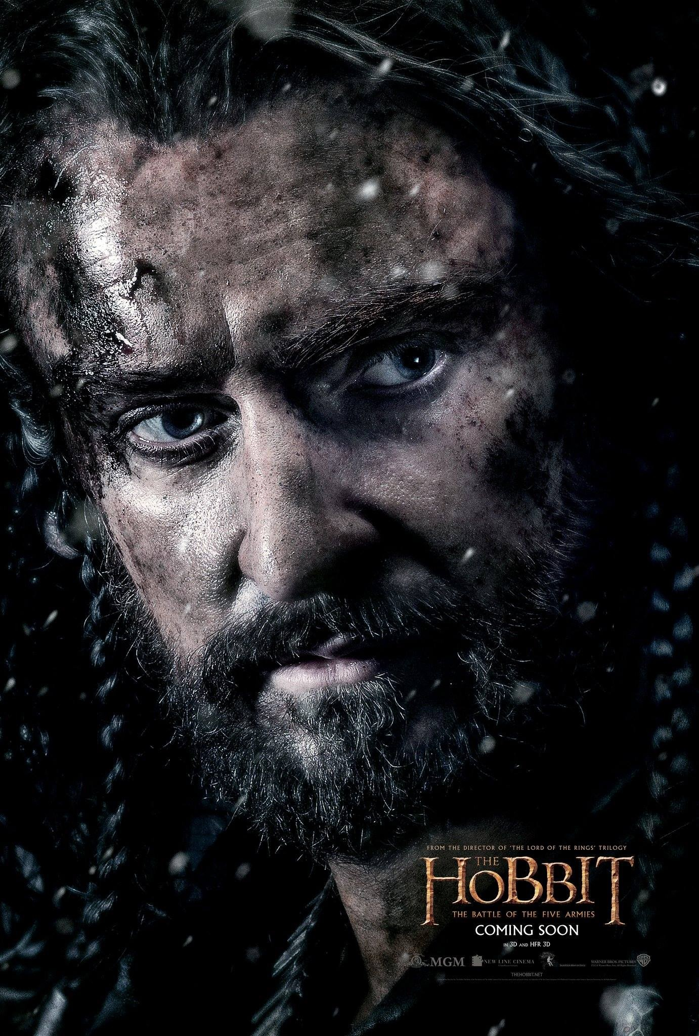The Hobbit The Battle of the Five Armies-Official Poster CHAR-14OUTUBRO2014-03