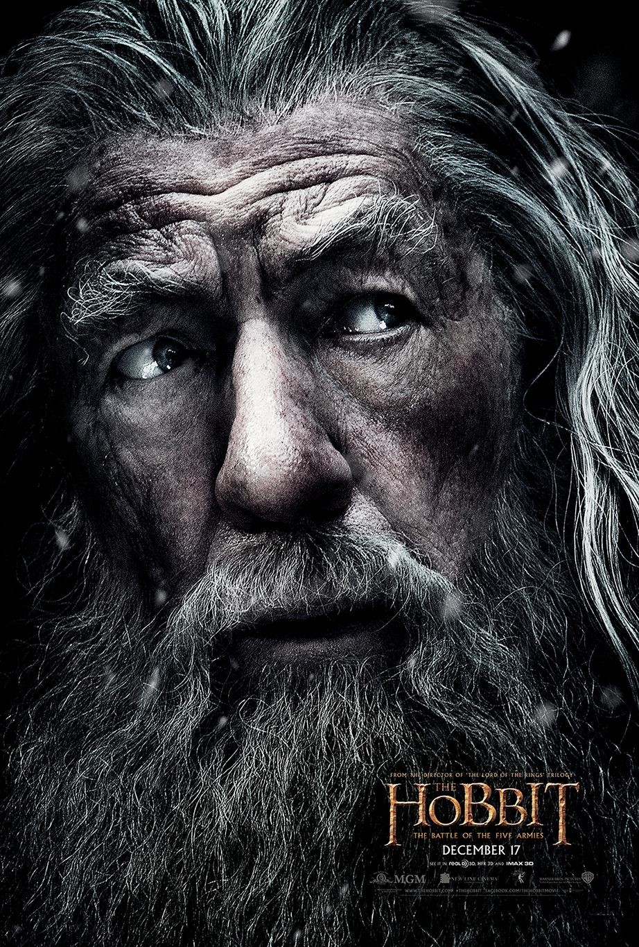 The Hobbit The Battle of the Five Armies-Official Poster XLG-09OUTUBRO2014-02