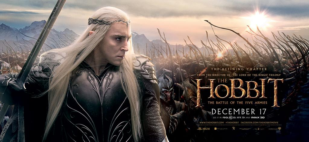 The Hobbit The Battle of the Five Armies-Official Poster XLG-15OUTUBRO2014-01