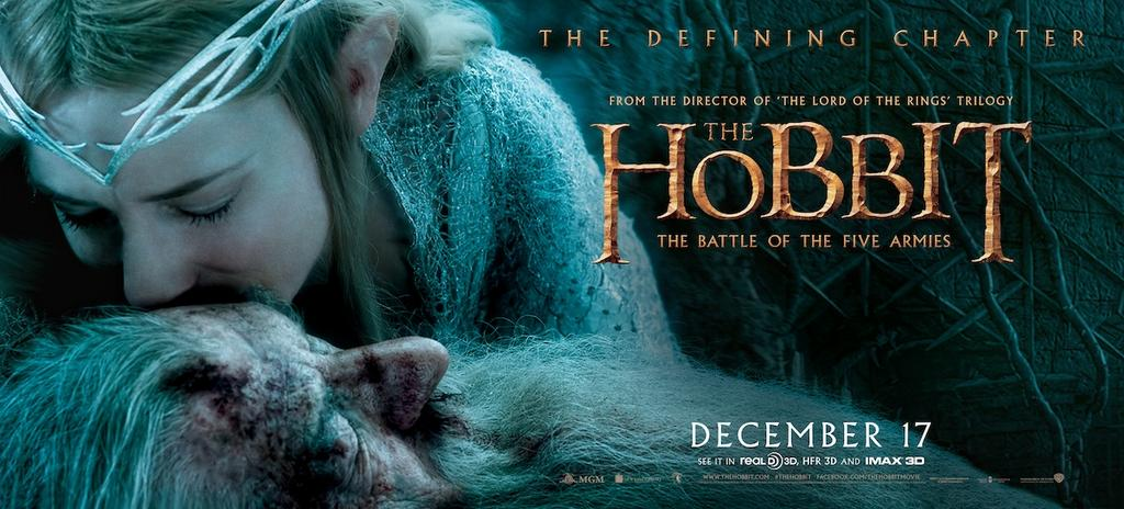 The Hobbit The Battle of the Five Armies-Official Poster XLG-15OUTUBRO2014-02