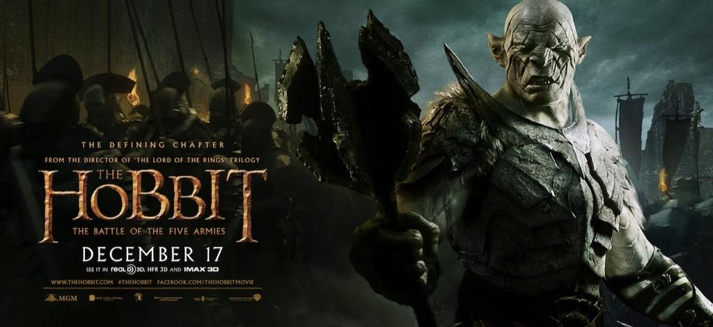 The Hobbit The Battle of the Five Armies-Official Poster XLG-15OUTUBRO2014-03