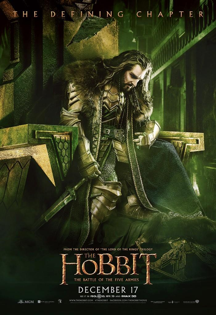 The Hobbit The Battle of the Five Armies-Official Poster XLG-15OUTUBRO2014-06