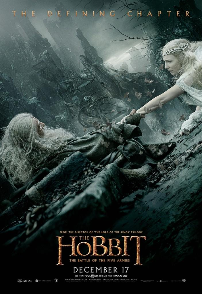 The Hobbit The Battle of the Five Armies-Official Poster XLG-15OUTUBRO2014-07