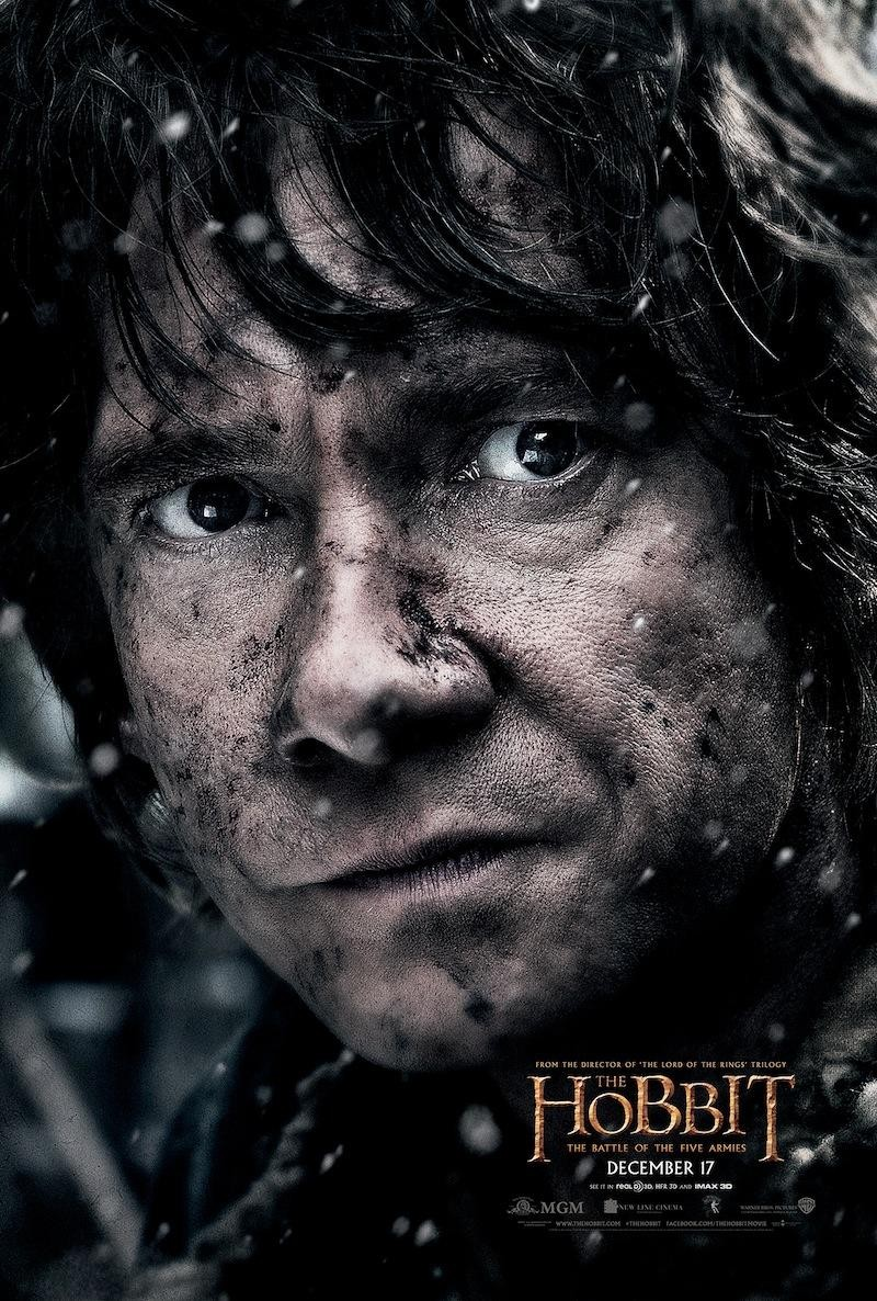 The Hobbit The Battle of the Five Armies-Official Poster XLG-15OUTUBRO2014-08