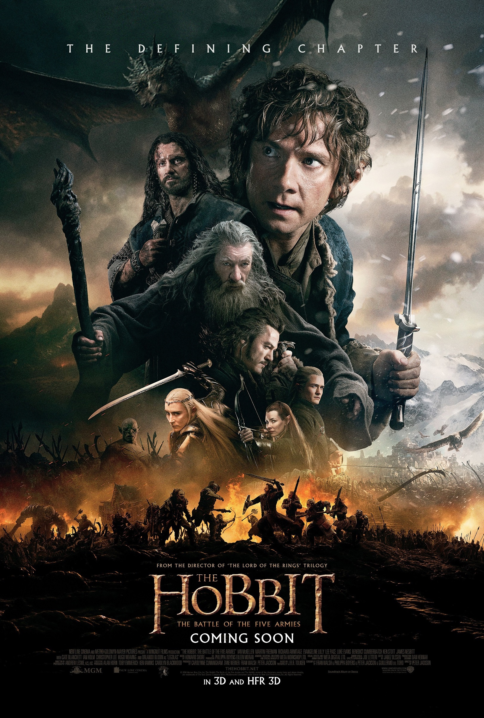 The Hobbit The Battle of the Five Armies-PROMO XXLG-24OUTUBRO2014