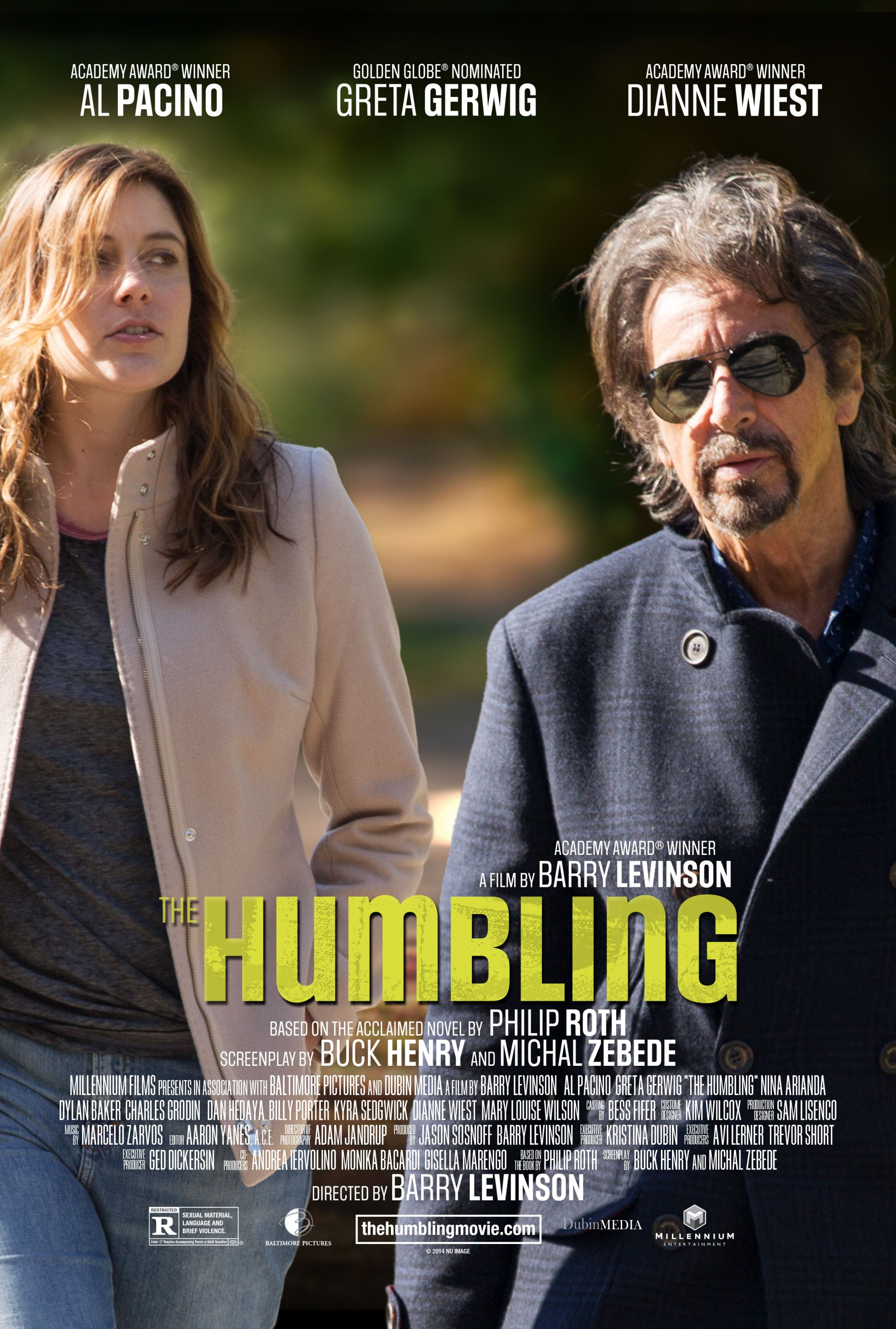 The Humbling-Official POSTER XXLG-27OUTUBRO2014